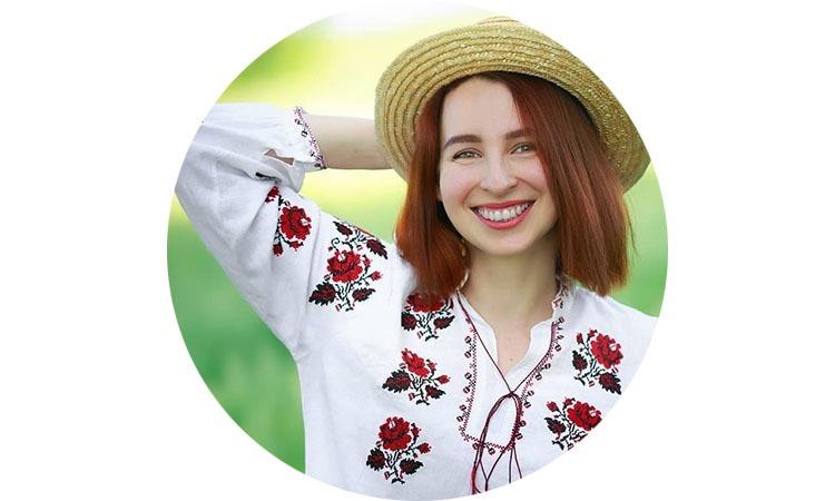 Марія Осадчук, екоблогерка і мама двох дітей